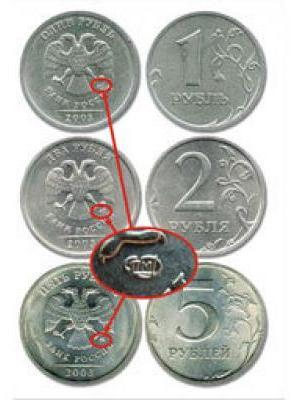 Покупаем мелкие монеты за 5 тысяч рублей